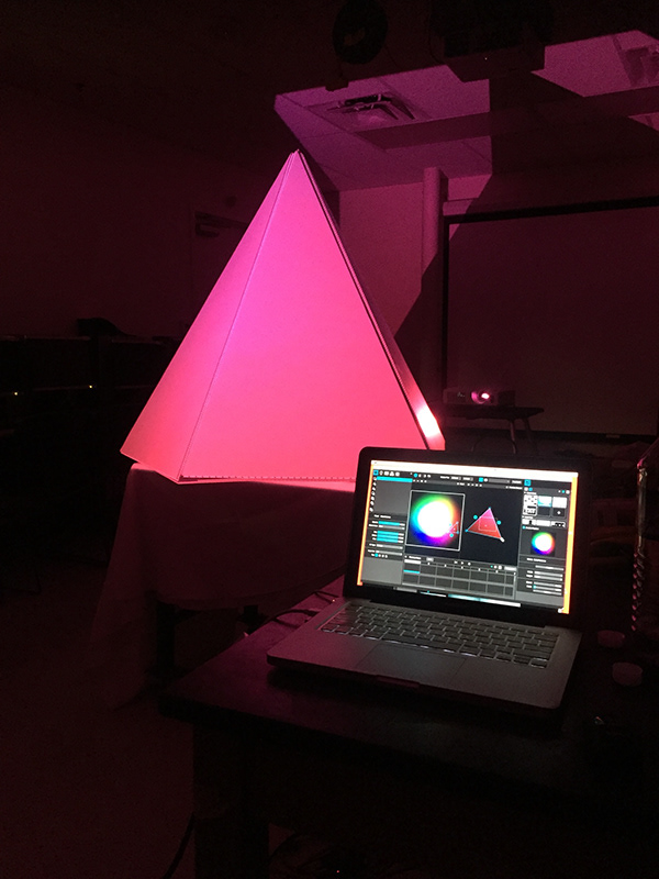 Projection mapping project made at FUSE